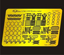 Flyhawk 1/700 US Navy modern radars etch set