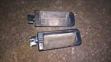 bmw e36 323 coupe pair of no plate lamps