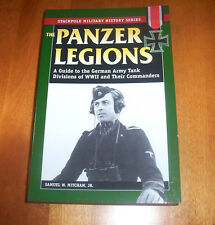 THE PANZER LEGIONS German Army Tank Divisions WWII Panzers World War II Book NEW