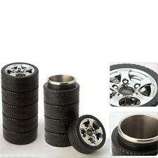 Stainless Steel Thermos Car Wheel Tire Cup Mup Coffee Tea Travel Tire Mug