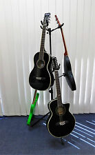 TWO (x2) Haze GS030 6-Way Guitar / Instrument Stands - Collapsible