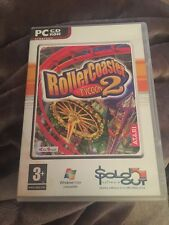 RollerCoaster tycoon 2 videogame for pc. 2002