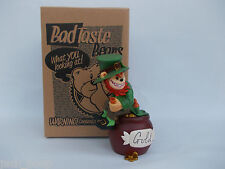 BAD TASTE BEARS LEPRECHAUN BEAR OF BRITAIN NEW BOXED