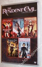 Resident Evil 1, 2, 3, 4 & 5 - DVD Movie Collection 1-5 BRAND NEW