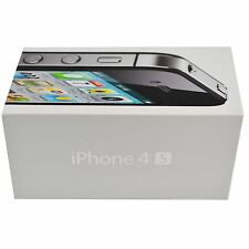 Genuine Empty Black iPhone 4S Box, No contents, No Phone