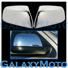 07-15 Toyota Tundra Triple Chrome plated HALF Mirror Cover Double Cab CrewMax 13