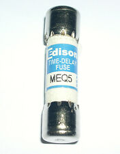 EDISON, TIME DELAY MIDGET CLASS FUSES , 5A, MEQ5, LOT OF 18
