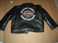"Harley Davidson""MY DADDY RIDES a HARLEY""TODDLERS Jacket,AWESOME DESIGN,GR8 GIFT"