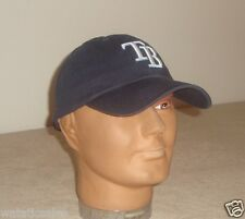 Tampa Bay Rays Unstructured Blue Baseball Hat New MLB Cap Adult One Size