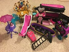 Monster High Furniture & Accessories Lot **Look**