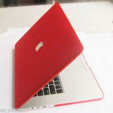 Matte Red hard case cover shell housing protector for Apple MacBook Pro 13 A1502