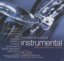 CD - Lo Esencial De La Musica Instrumental NEW 4 CD's Ray Conniff FAST SHIPPING!