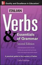 Italian Verbs & Essentials of Grammar, 2E. Verbs and Essentials of Grammar