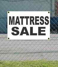 2x3 MATTRESS SALE Black & White Banner Sign NEW Discount Size & Price FREE SHIP