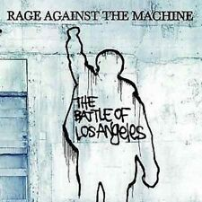 RAGE AGAINST THE MACHINE Battle Of Los Angeles 180G Numbered Blue VINYL LP
