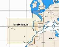 C-Map W90 NT MAX  M-EW-M228 WIDE AREA WEST EUROPEAN COASTS CHART SD-CARD