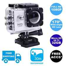 Brand New Sports Action Video Waterproof Camera 1080P HD Gopro Go Pro Fit Mount
