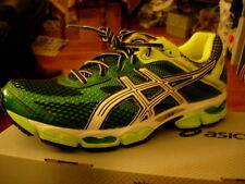 Asics Cumulus 15, Yellow/Green Mens 11.5