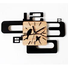 """Bird Back Home Silent Wall Clock Art Watch Home Decor Clocks 15.7"""""""