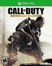 CALL OF DUTY ADVANCED WARFARE - Microsoft Xbox One Game Very Good Condition! COD