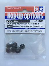 Tamiya 54428 Steel Bevel Gears for TA06 Gear Differential Unit (TA-06/XV-01) NIP