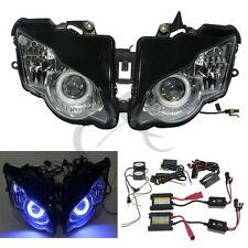 Fully Assembled Headlight Angel Eye HID For Honda CBR1000RR CBR1000 RR 2008-2011
