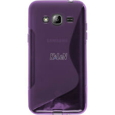 Rubber Soft Line Gel TPU Silicone Case Skin Cover For Samsung Galaxy J3 (2016)