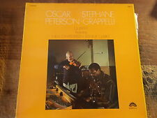 OSCAR PETERSON/STEPHANE GRAPPELLI  QUARTET    LP