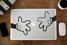 "Hands Vinyl Decal Sticker for Apple MacBook Air/Pro Laptop 12"" 13"" 15"""