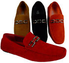 MEN'S GIOVANNI DRESS LOAFER ITALIAN CASUAL SLIP-ON MEDIUM(D,M)SOLID FASHION NEW