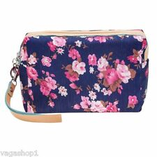 Beauty Make Up Cosmetics Pouch Bag Case Makeup Utensils Toiletries Nylon Carry