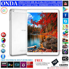"ONDA v919 4G AIR GPS 2 GHz OCTA CORE 32GB 9.7 ""Retina 4.4 telefono con Android Tablet PC"