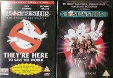 GHOSTBUSTERS 1 & 2 [One,Two] Bill Murray*Harold Ramis 1980s Comedy DVD *EXC*