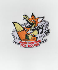 Metal Gear Solid FOXHOUND Iron on Patch - Retro Patch for Cosplay Big Boss Snake