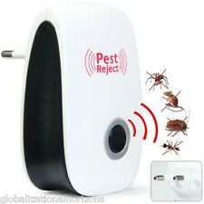 Ultrasonic Mosquito Pest Repeller Deterrent Insect Mouse Repellent Killer Rodent