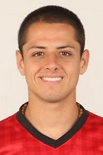 Football Photo>JAVIER HERNANDEZ Man Utd 2012-2013
