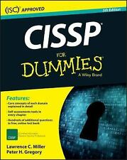 CISSP for Dummies by Lawrence C. Miller and Peter H. Gregory (2016, Paperback...