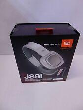 JBL by Harman J88i Premium Over Ear Headphones Headset w/ microphone White