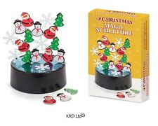 Christmas Magic Sculpture Magnet Snow Santa Tree Game Table Top Desktop Kids Toy