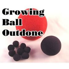 Growing Ball Outdone - One Sponge Ball Grows & Another Changes Into Mini Sponges
