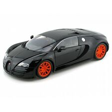 Minichamps 1.18 Scale Bugatti Veyron Super Sport (Black Metallic) Year 2010 / 11