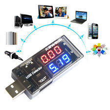 1 Pc Universal USB Charger Voltage Charging Detector Battery Voltmeter Ammeter