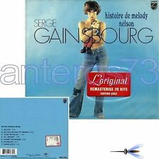 "SERGE GAINSBOURG ""HISTOIRE E MELODY NELSON"" RARE CD"
