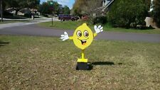 Sign Waving Machine Lemonade Mannequin Spinner Produce Stand Cartoon (Arms Move)