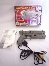 SONY PLAYSTATION / PREDATOR PLUS LIGHT GUN / WITH BOX & INSTRUCTIONS