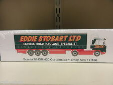 Atlas Editions Eddie Stobart 1:76 Scania R143M 420 Curtainside Emily Kim H156