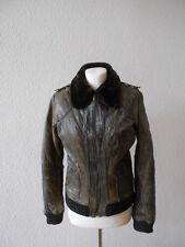 Jacke Bikerjacke  Lederjacke Zara  Gr. S  /  M