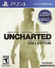 Uncharted The Nathan Drake Collection (PlayStation 4) BRAND NEW / Region Free