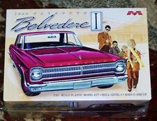 Moebius 1965 Plymouth Belvedere I  model kit 1/25