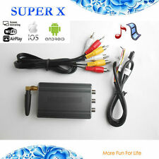 MIRROR LINK CAR WIFI DISPLAY WITH AIRPLAY MIRACAST DLNA FOR IPHONE 6s 7 ANDROID